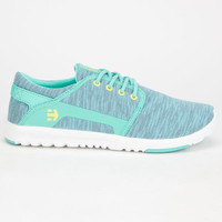 Etnies Scout Womens Shoes Teal Blue  In Sizes