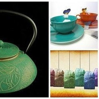 Cast Iron Water Pot Green Japanese Vintage Cauldron Antique Kettle Tea Stove Top