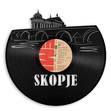 SKOPJE Vinyl Wall Art
