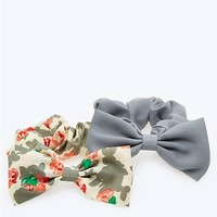 Rose Bow Scrunchies