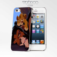 The Lion King Simba Scar Animal iPhone 4s iphone 5 iphone 5s iphone 6 case, Samsung s3 samsung s4 samsung s5 note 3 note 4 case, iPod 4 5 Case