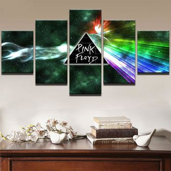 Fast US Ship - Pink Floyd Prism Wall Rock Music Wall Art