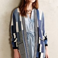 Shirttail Cardigan by Sparrow Blue Motif