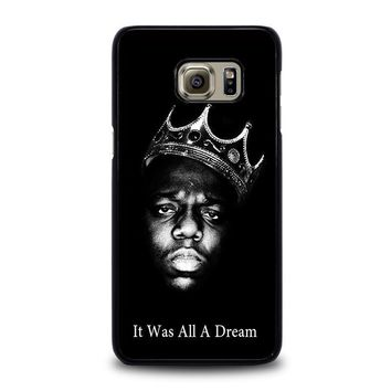 notorious big samsung galaxy s6 edge plus case cover  number 2