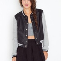 Junior Varsity Jacket - NASTY GAL