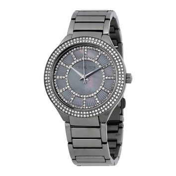 Michael Kors Analog Business Watch Kerry Grey Ladies MK3410