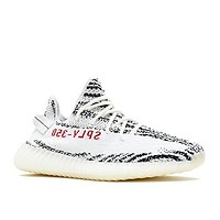 CP9654 MEN YEEZY BOOST 350 V2 ADIDAS WHITE CBLACK RED