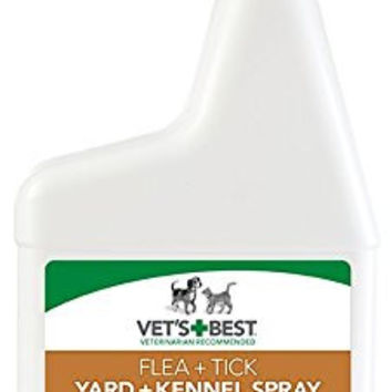 Vet's Best Flea & Tick Yard and Kennel Spray, 32 oz