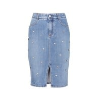 stella mccartney - denim skirt