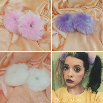Melanie Martinez Cry Baby Fur Hair tie Set