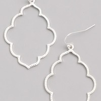 Shape Up Dangle Earrings - Silver