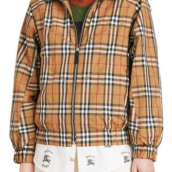Burberry Corfe Check Print Jacket | Nordstrom