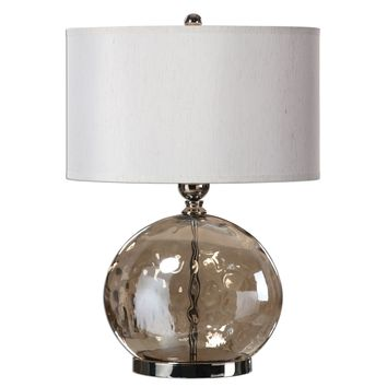 Piadena Water Glass Accent Lamp by Uttermost