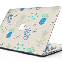 Tropical Summer Love v4 - MacBook Pro with Retina Display Full-Coverage Skin Kit