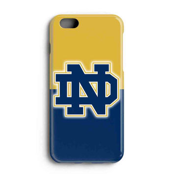 "Apple Iphone 6 4.7"" Case - The Best 3d Full Wrap Iphone Case - Notre Dame Fighting Irish Logo"