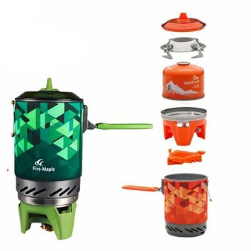 One-Piece Camping Stove