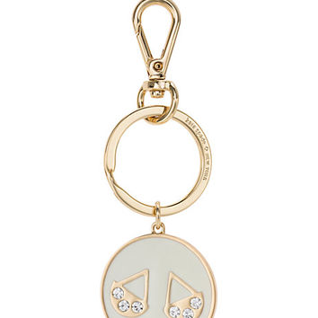 Kate Spade Libra Keychain Cream/Clear ONE