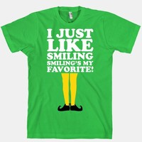 I Like Smiling (Buddy Elf Shirt)