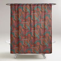 Paisley Confetti Shower Curtain