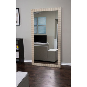 "Brandt Works Modern Manhattan Floor Mirror BM030TS 32""x66"""