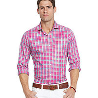 Polo Ralph Lauren Plaid Oxford Estate Shirt - Pink/Turquoise