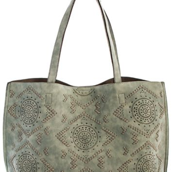 Street Level Mandela Tote Handbag