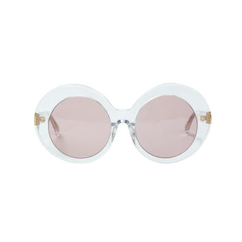 LHD X Linda Farrow Sunglasses - Clear Acetate Sunglasses