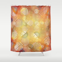 Fancy Bubbles I Shower Curtain by SensualPatterns