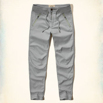 Hollister Hybrid Twill Jogger Pants