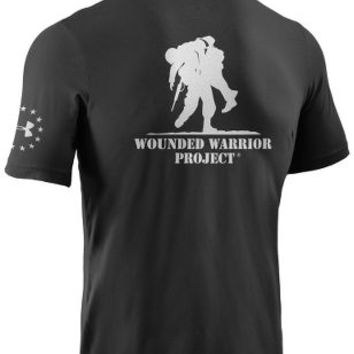 Under Armour® Wounded Warrior     Project® Believe in Heroes® Short-Sleeve     Tee Shirt