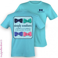 Preppy Multibow T-shirt - Sky Blue