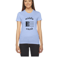 Viola Is The Middle Child - Women's Tee