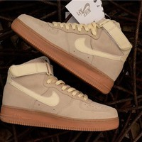 Nike Air Force 1 High '07 LV8 Suede Beige Raw AA1118-100