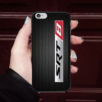 New Dodge Challenger SRT 8 Logo Fit Hard Case For iPhone 6 6s 7 8 Plus X Cover +
