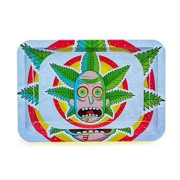 Mad Scientist Metal Rolling Tray