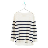 STRIPED SWEATER WITH STARS DETAIL - Girl - New this week - ZARA United States