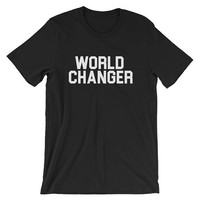 World Changer Christian Revivalist Revival Short-Sleeve Unisex T-Shirt