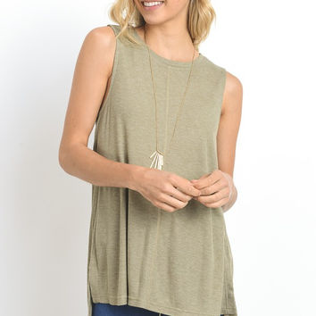 High Low Side Slit Tank