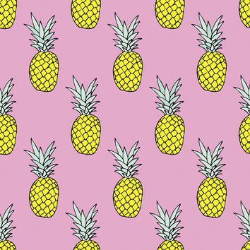 Pineapple Party Removable Wallpaper
