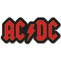ACDC AC DC logo Vynil Car Sticker Decal - Select Size