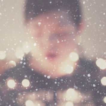 wonderment, snow, winter, dreamy, fine art photography