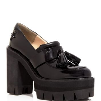 No. 21 Slide Platform Pumps - Lug Sole Tassel | Bloomingdales's