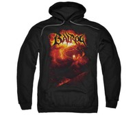 The Lord Of The Rings Movie Balrog Licensed Adult Pullover Hoodie