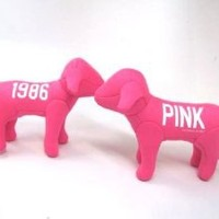 ONE NEW Victoria Secret Pink Line Mini Dog