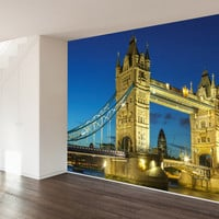 London Tower Bridge Wall Mural Decal