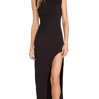 Lovers + Friends Passion Dress in Black
