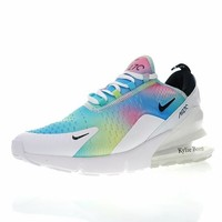 "NIKE Air Max 270 ""Rainbow"" Women Running Shoes AH6789-700"