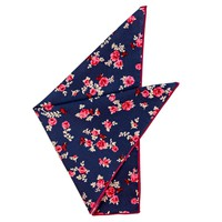 Margaret Floral Pocket Square