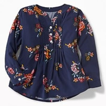 Pintuck Tunic for Toddler Girls |old-navy