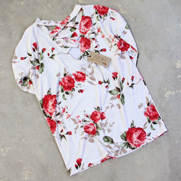 Faded Rose Tee